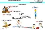 LOS DEMOSTRATIVOS II