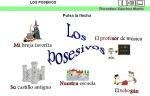 DETERMINANTES POSESIVOS