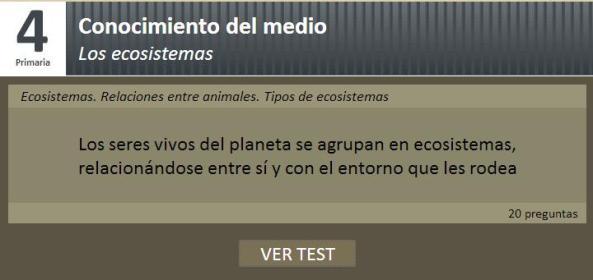 testeando ecosistemas