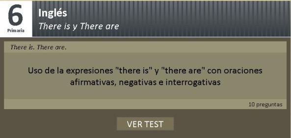 test ingles